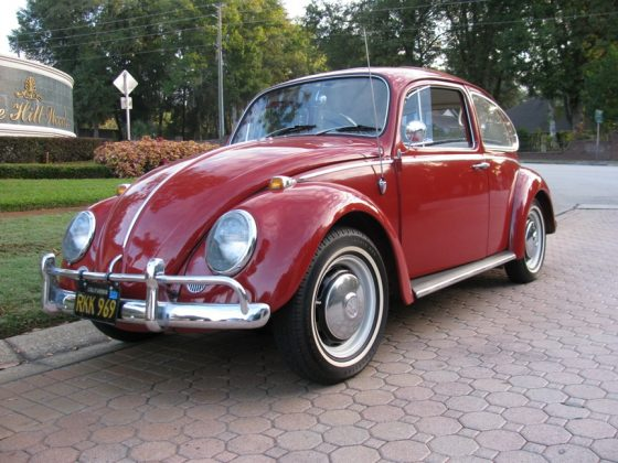 1966 Volkswagen Beetle 1300 with Sunroof.