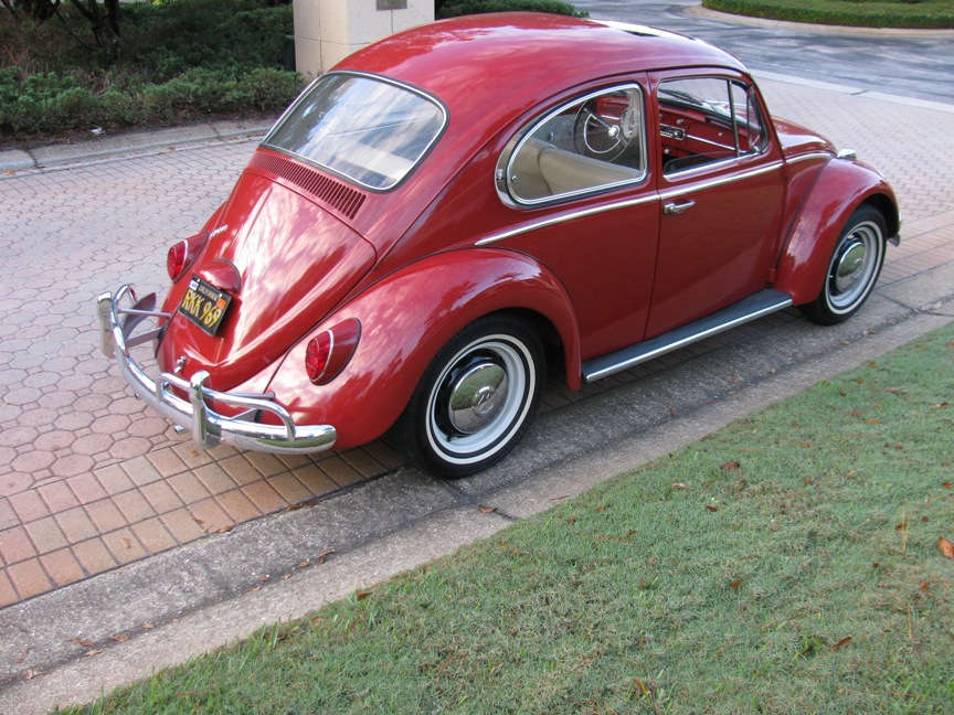 1966 Volkswagen Beetle 1300 With Sunroof Vantage Sports