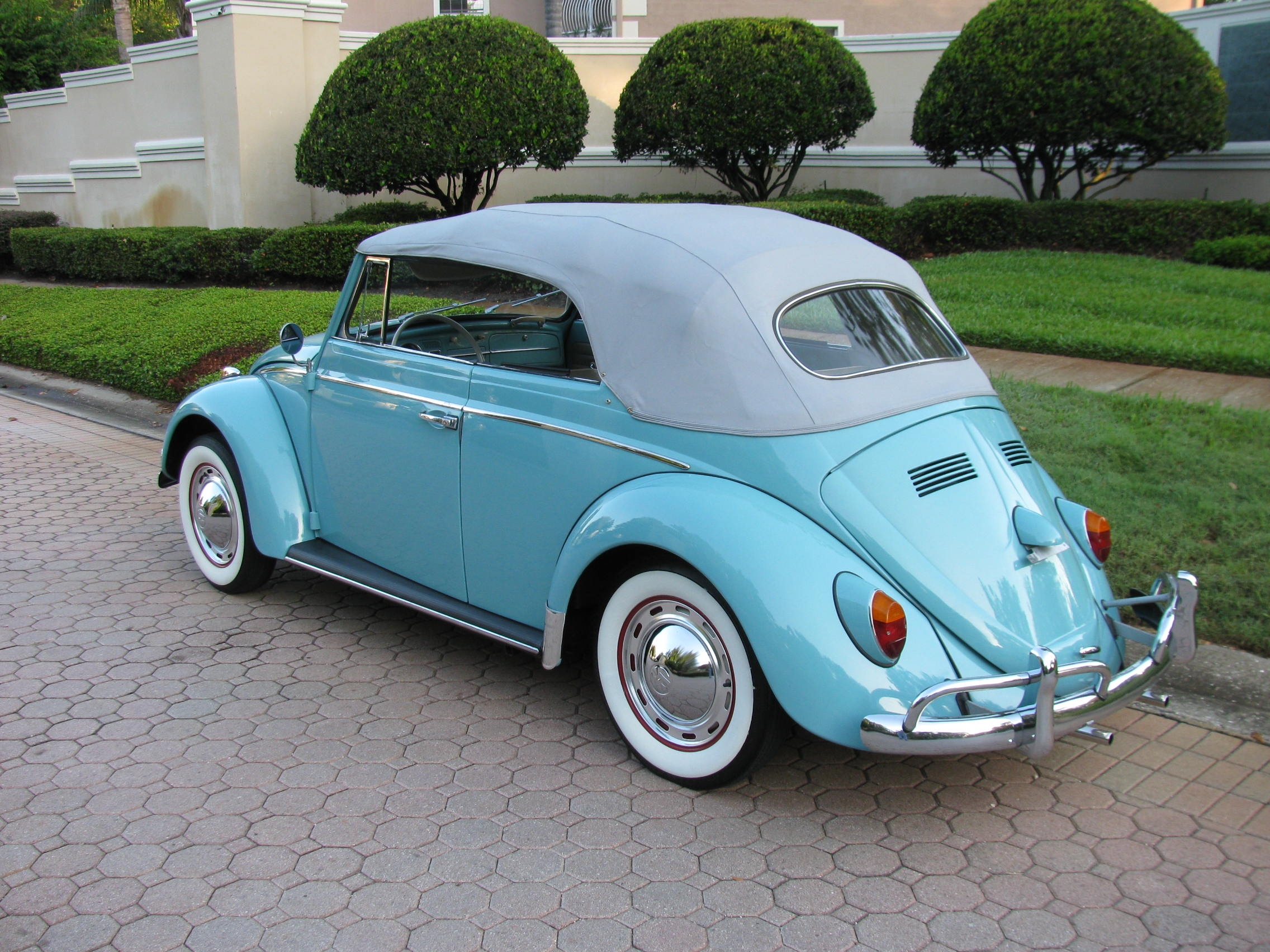1963 volkswagen beetle convertible sold