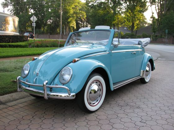 1960 vw bug convertible