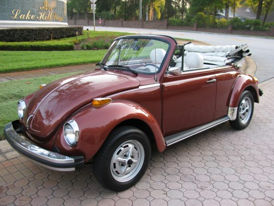 1978 VW Beetle Convertible Champagne II Edition---SOLD!!!