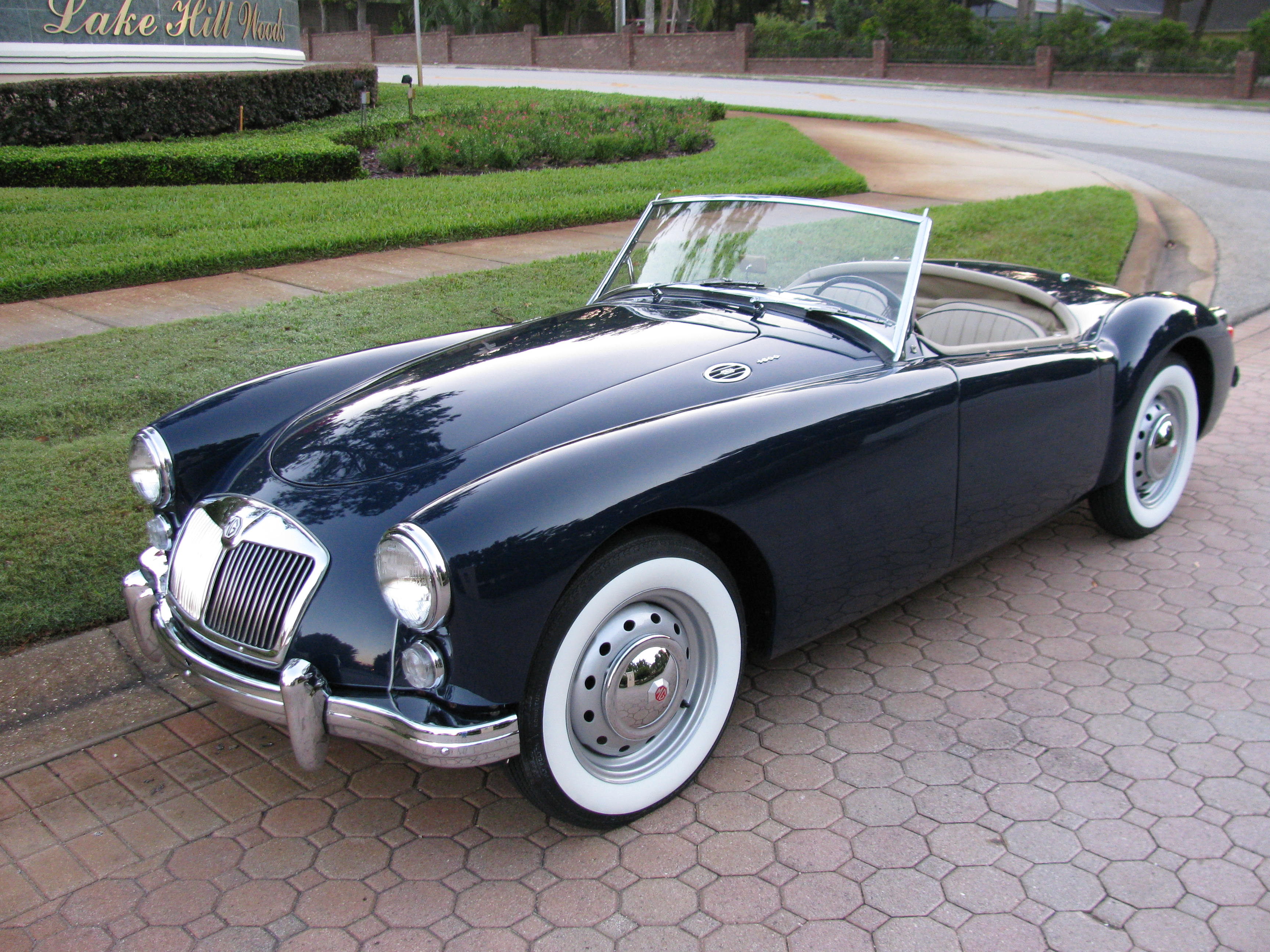 1961 MGA 1600 MKI SOLD Vantage Sports Cars Vantage