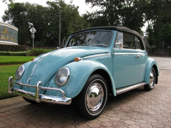 1965 Volkswagen Bug Convertible---SOLD!!