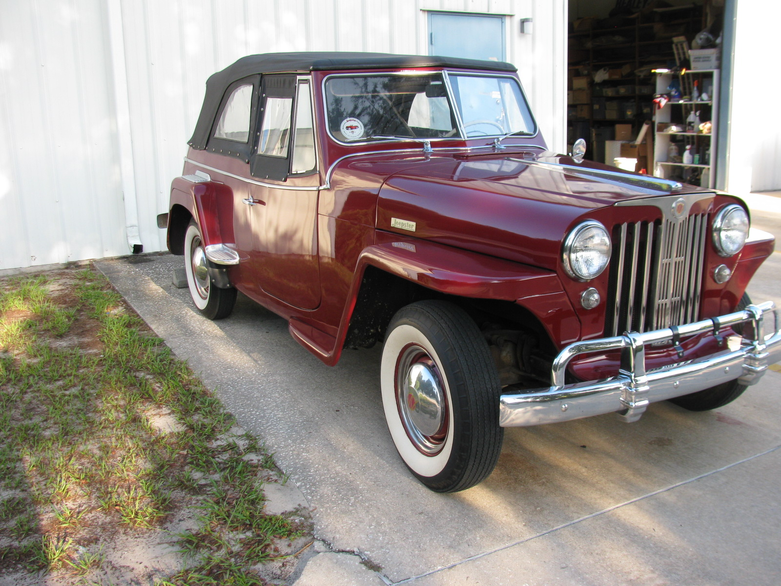 1949 Willys Jeepster Sold Vantage Sports Cars