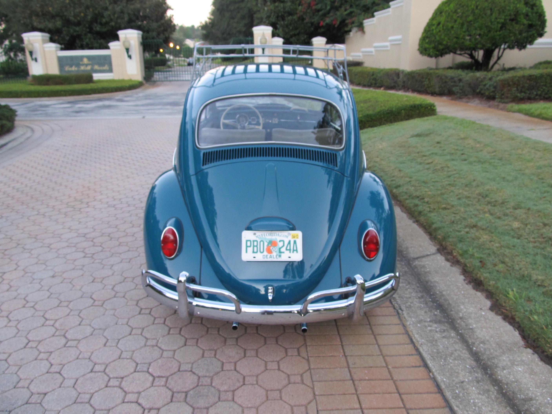 1965 Volkswagen Beetle Sunroof Model Sold Vantage