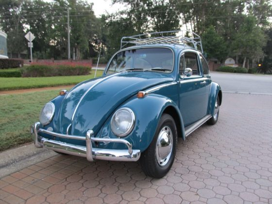 1965 Volkswagen Beetle - Sunroof Model -SOLD!