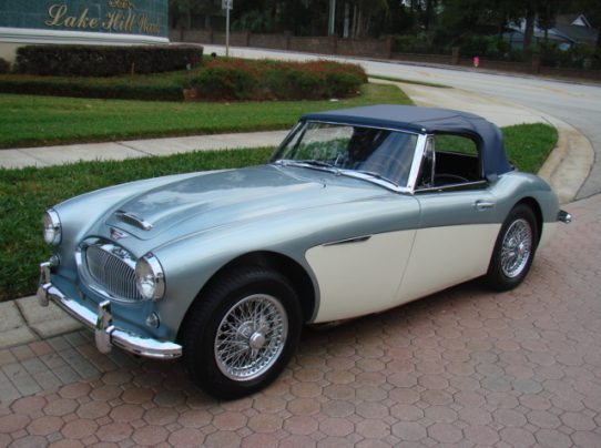 1963 Austin Healey 3000 BJ7 U2013 SOLD!!