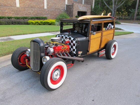 1931 Model A Ford Woody  2 door Delivery Hotrod - SOLD!