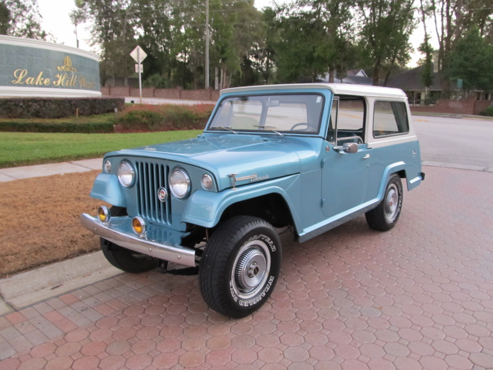 1968 jeepster commando by kaiser jeep corporation sold. Cars Review. Best American Auto & Cars Review