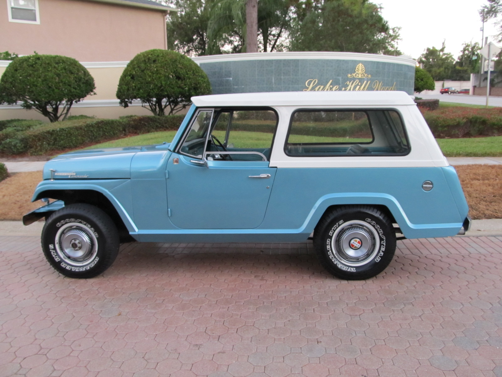 1968 Jeepster Commando by Kaiser Jeep Corporation-SOLD! - Vantage ...