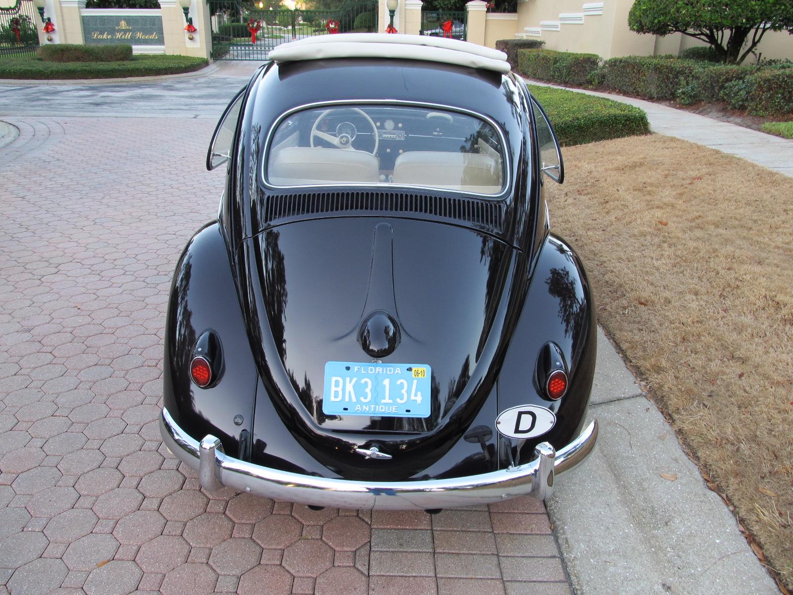 1958 Volkswagen Beetle Ragtop - SOLD! - Vantage Sports Cars