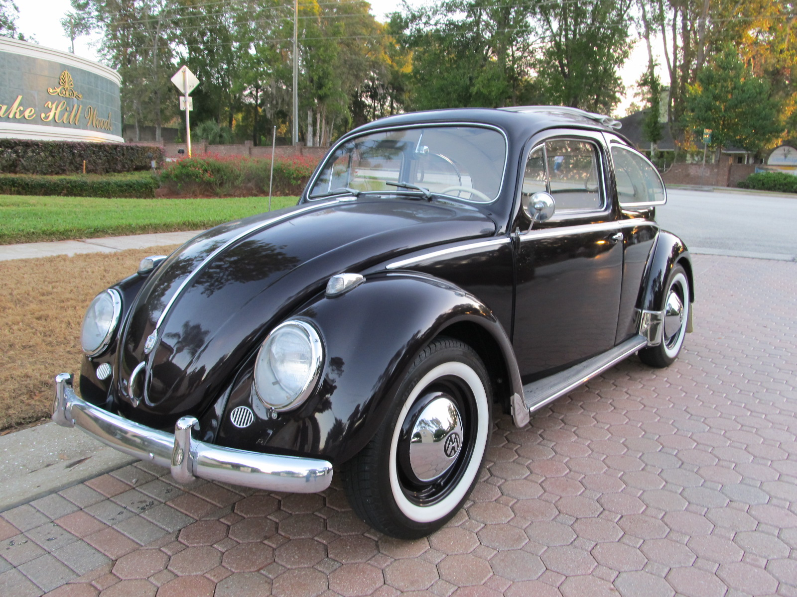 1958 Volkswagen Beetle Ragtop - SOLD! - Vantage Sports Cars | Vantage Sports Cars