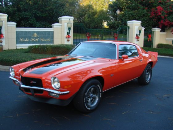 1971 Chevrolet Camaro Z28 - SOLD!