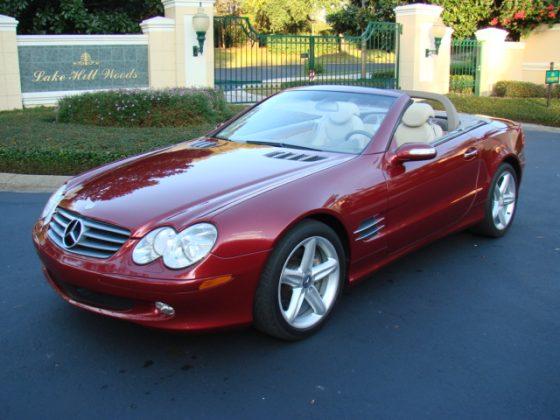 2004 mercedes benz sl 500 sold vantage sports cars for 2004 mercedes benz sl500