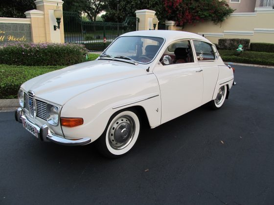 1969 Saab 96 Museum Quality - SOLD!!