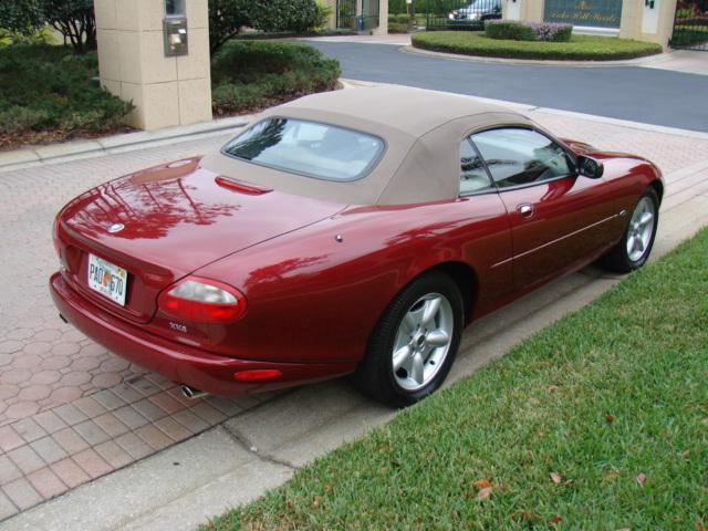 1998 Jaguar Xk8 Convertible Sold