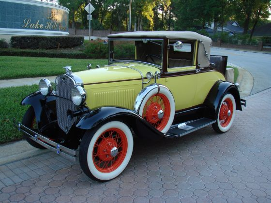 1931 Ford Model A Cabriolet - SOLD!!