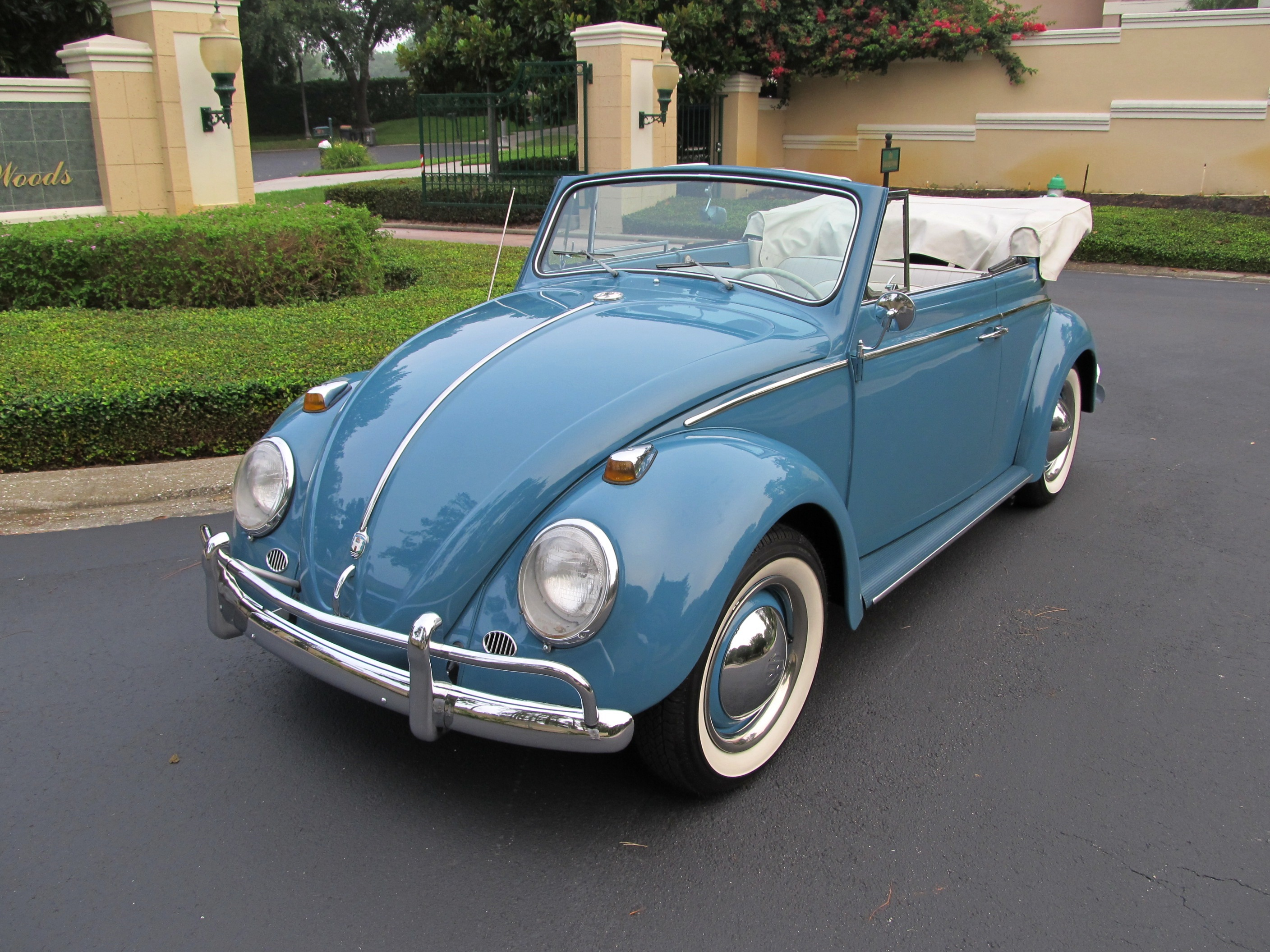 1963 Volkswagen Beetle Convertible-SOLD!! - Vantage Sports ...