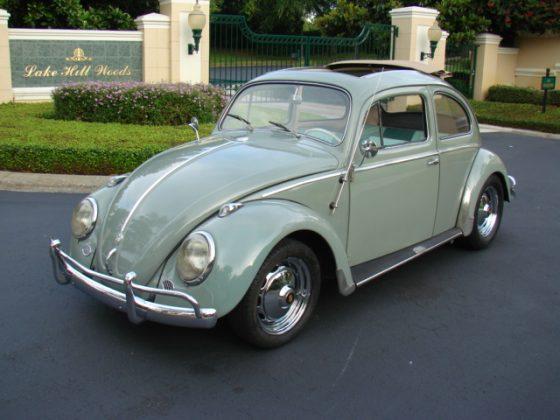 1959 Volkswagen Beetle Ragtop - SOLD!!