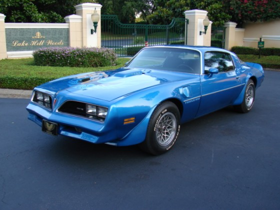1978 Pontiac Trans Am -  SOLD!!!