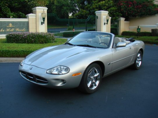 1999 Jaguar Xk8 Convertible Sold