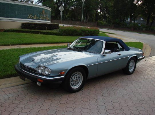 1990 jaguar xjs convertible sold vantage sports cars vantage sports cars. Black Bedroom Furniture Sets. Home Design Ideas