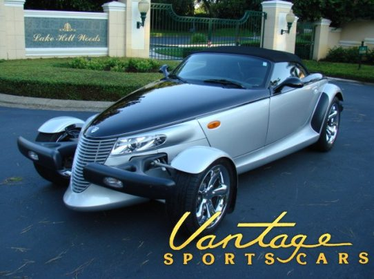 2001 Plymouth Prowler Black Tie Edition Sold