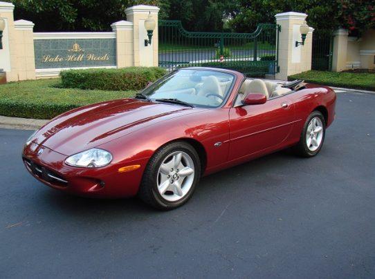 1998 Jaguar XK8 Convertible U2013 SOLD!
