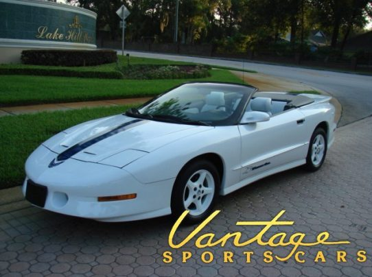 1994 Pontiac Trans Am 25th Anniversary Convertible Sold Vantage Sports Cars