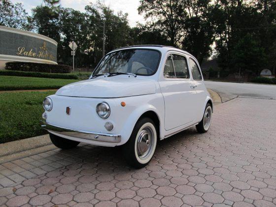 1970 Fiat 500-L---SOLD!!