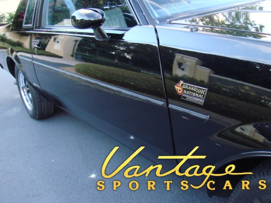 1987 Buick Grand National - Only 2,388 miles - SOLD!