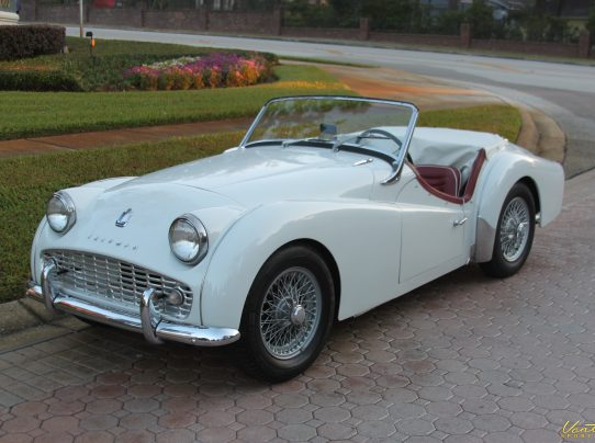 1963 Triumph Tr3 B Sold Vantage Sports Cars Vantage