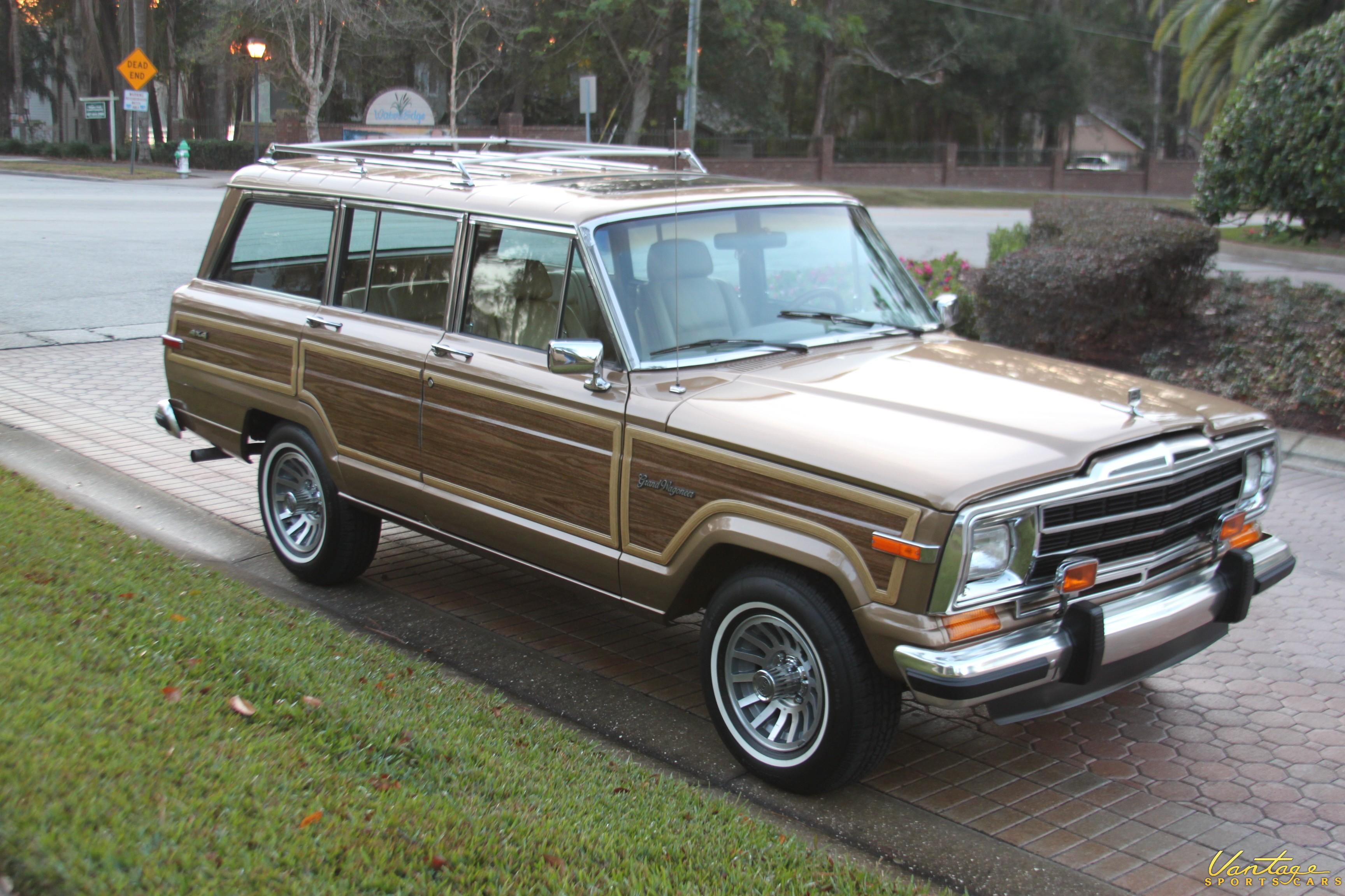 1988 jeep grand wagoneer sold vantage sports cars. Black Bedroom Furniture Sets. Home Design Ideas