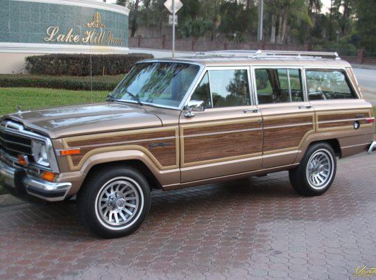 1988 Jeep Grand Wagoneer Sold Vantage Sports Cars