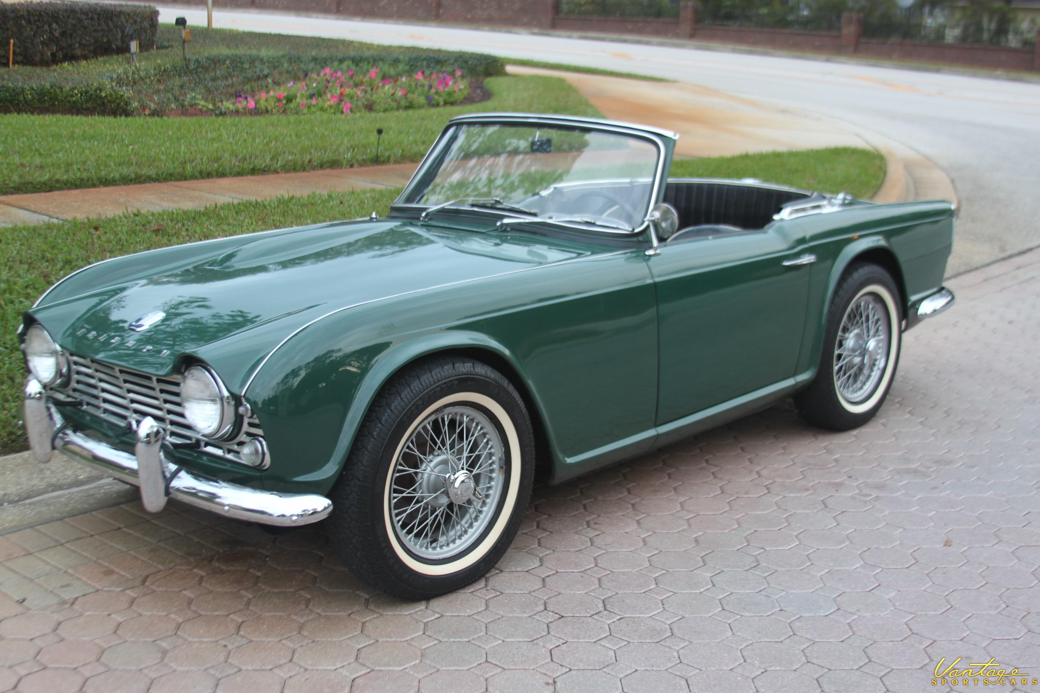 1963 Triumph Tr4 Sold Vantage Sports Cars Vantage