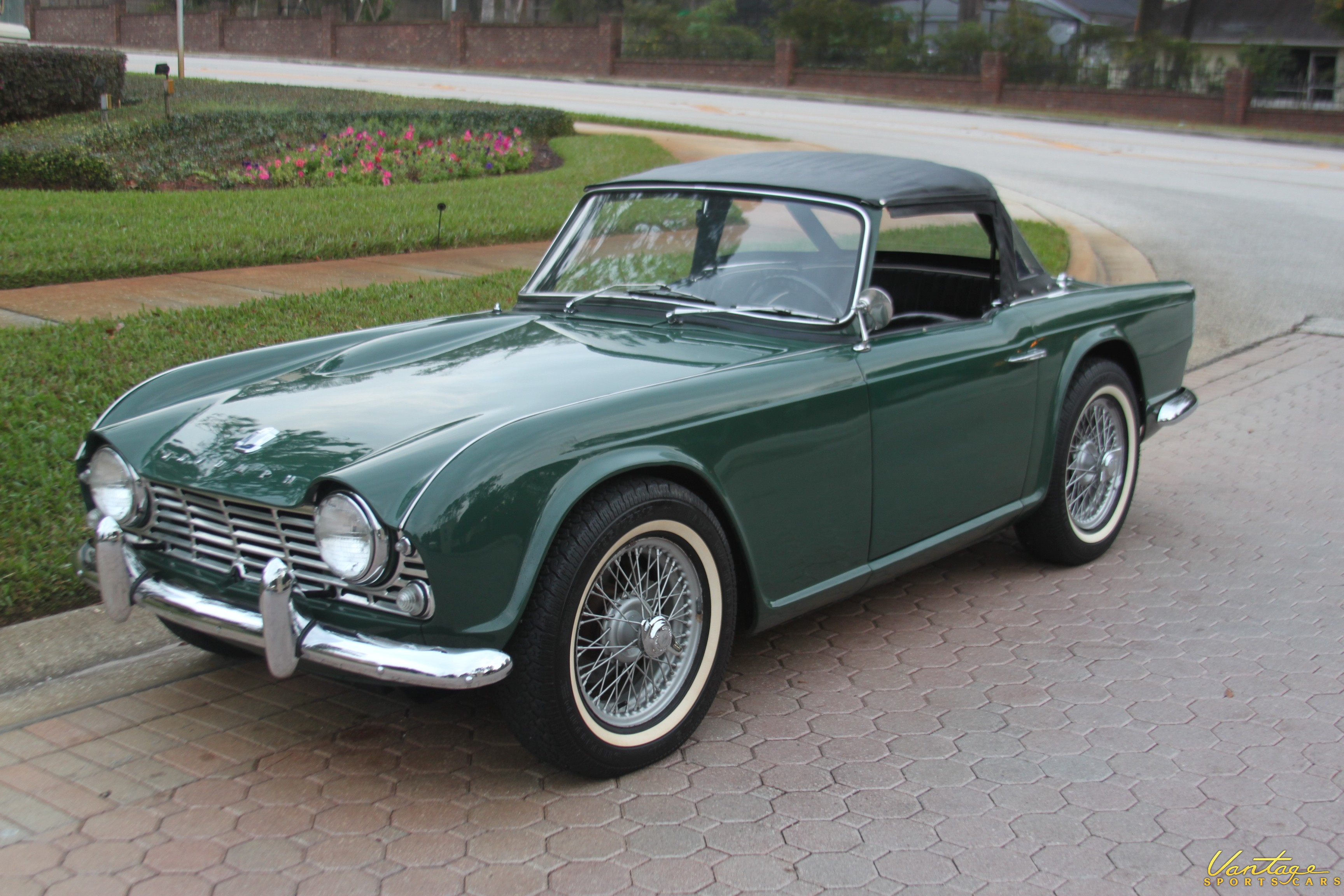 1963 Triumph Tr4 Sold Vantage Sports Cars Vantage