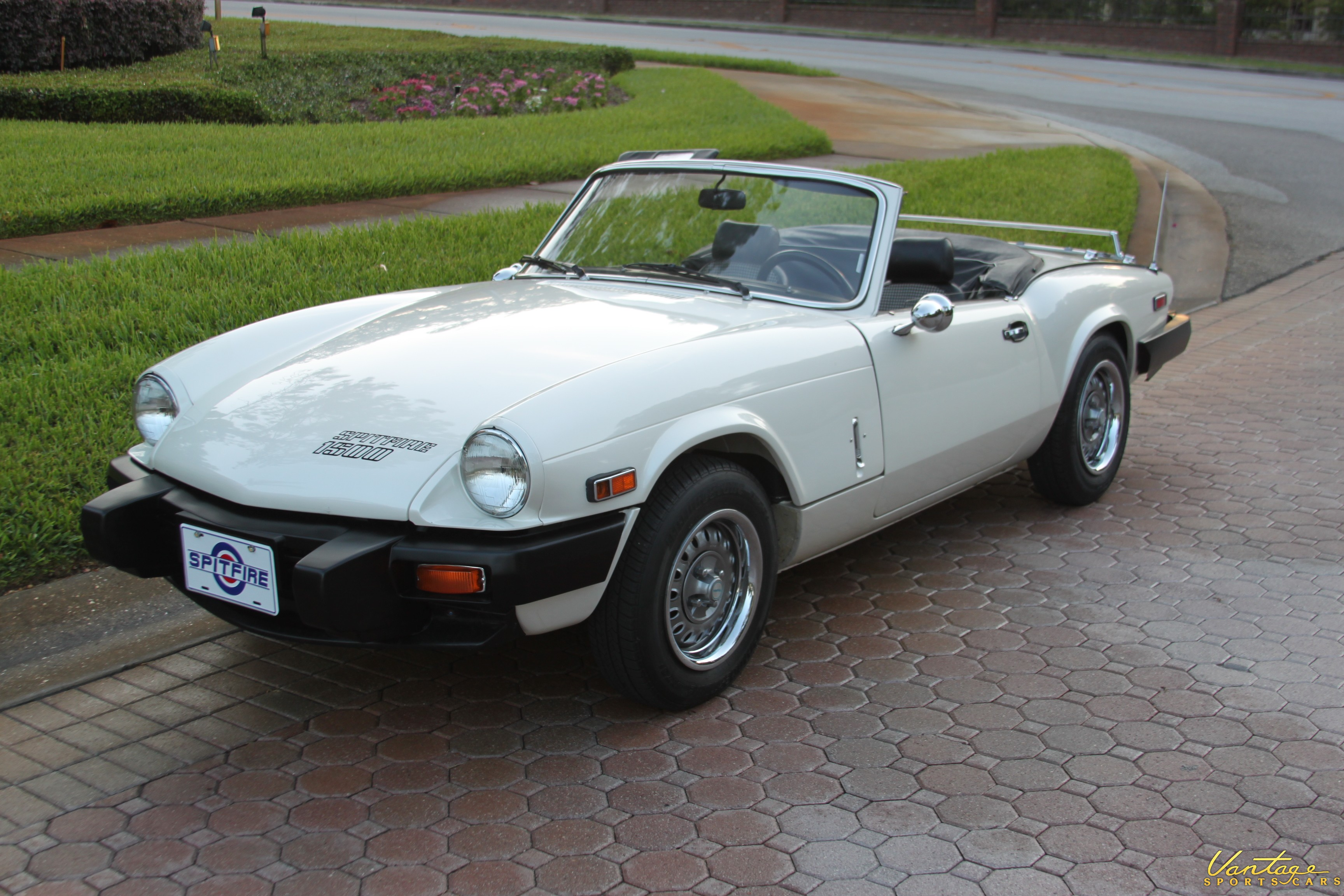 1980 triumph spitfire 1500 with factory overdrive sold vantage sports cars. Black Bedroom Furniture Sets. Home Design Ideas