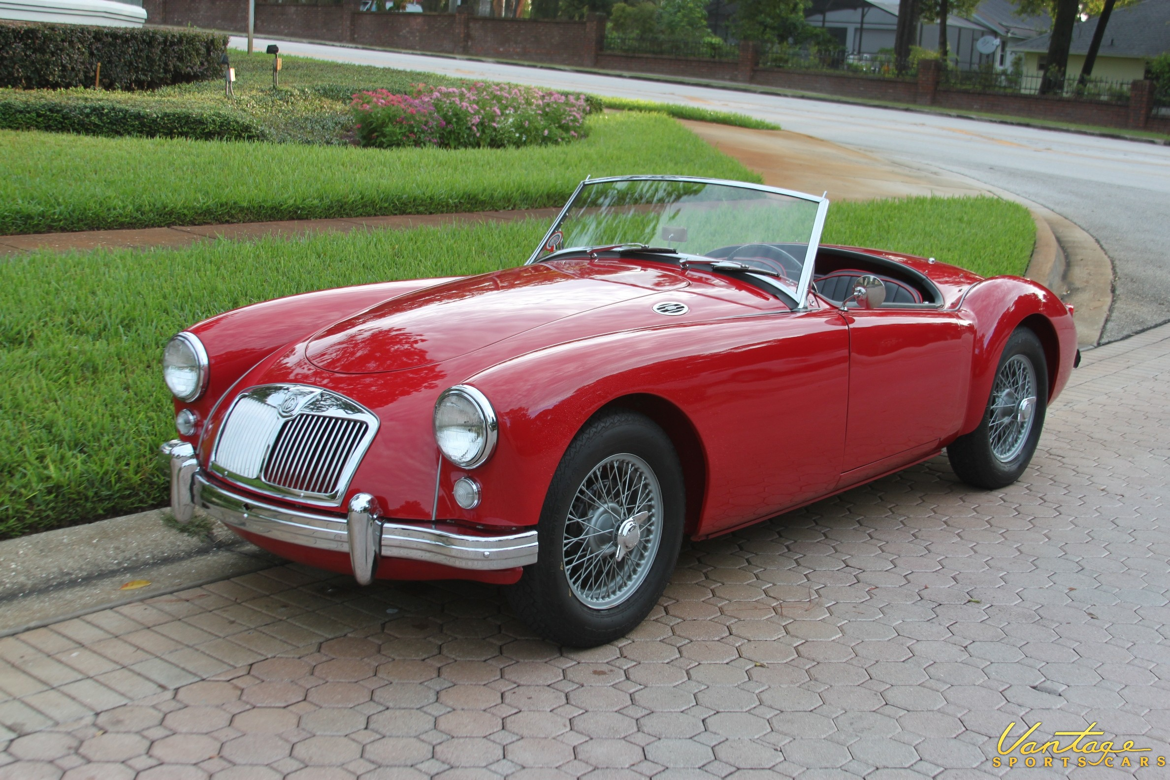 1956 Mga Roadster Sold Vantage Sports Cars Vantage