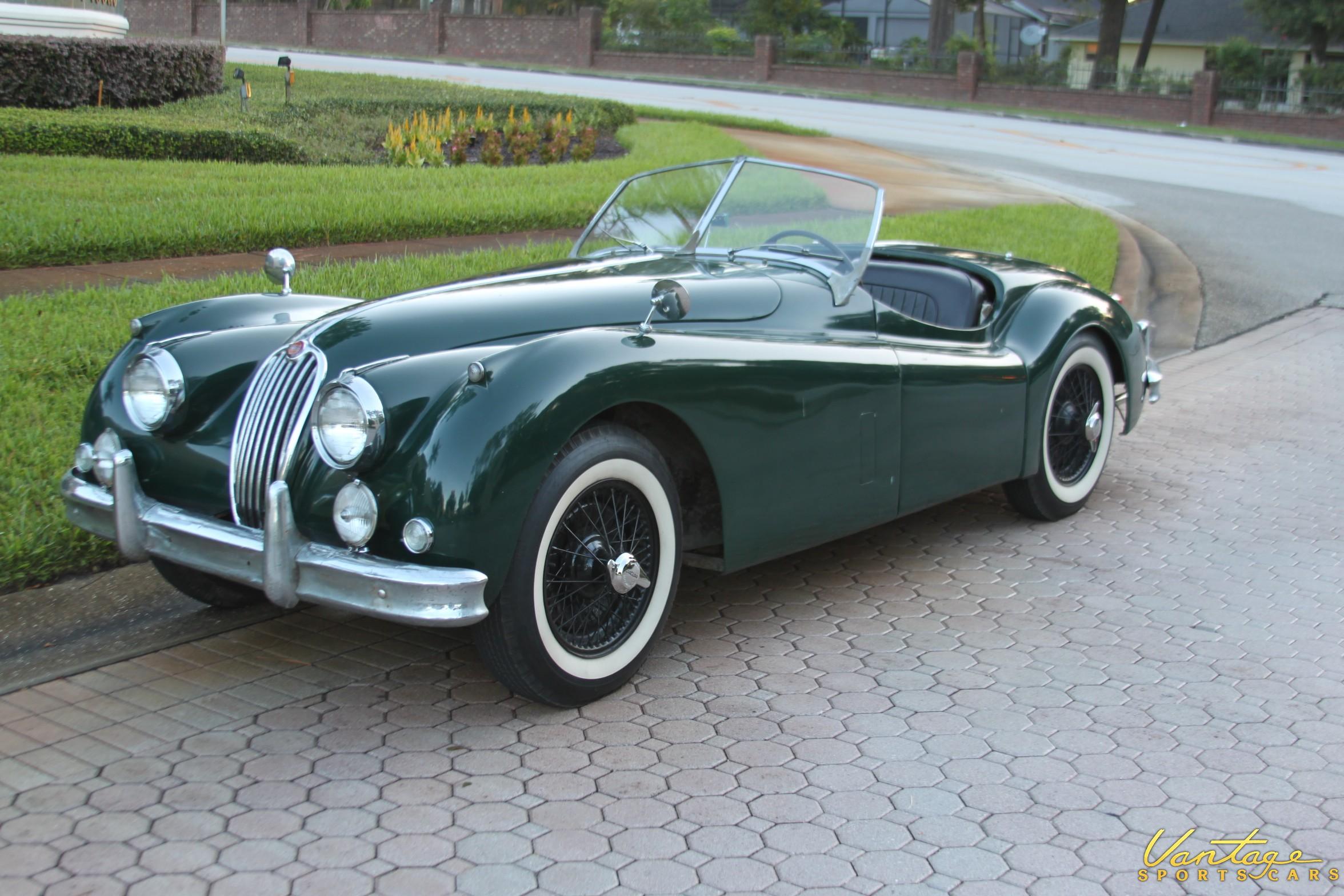 1956 Jaguar Xk140 Mc Sold Vantage Sports Cars
