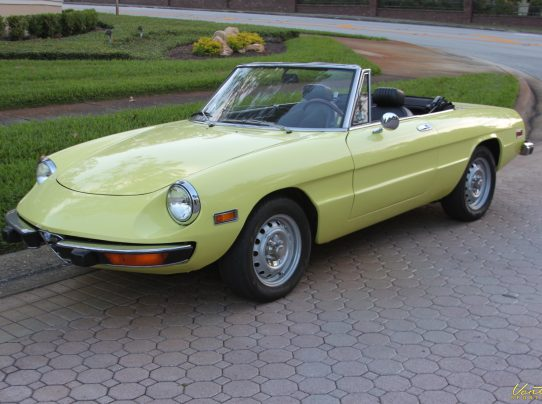1974 Alfa Romeo Spider Veloce Sold Vantage Sports Cars
