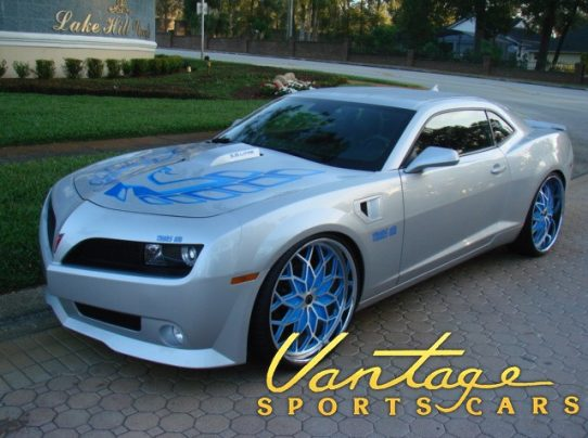 2010 chevrolet camaro trans am conversion sold vantage. Black Bedroom Furniture Sets. Home Design Ideas
