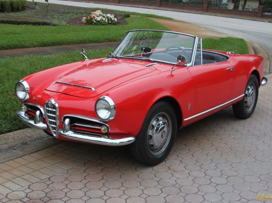 1964 Alfa Romeo Giulia Spider Sold Vantage Sports
