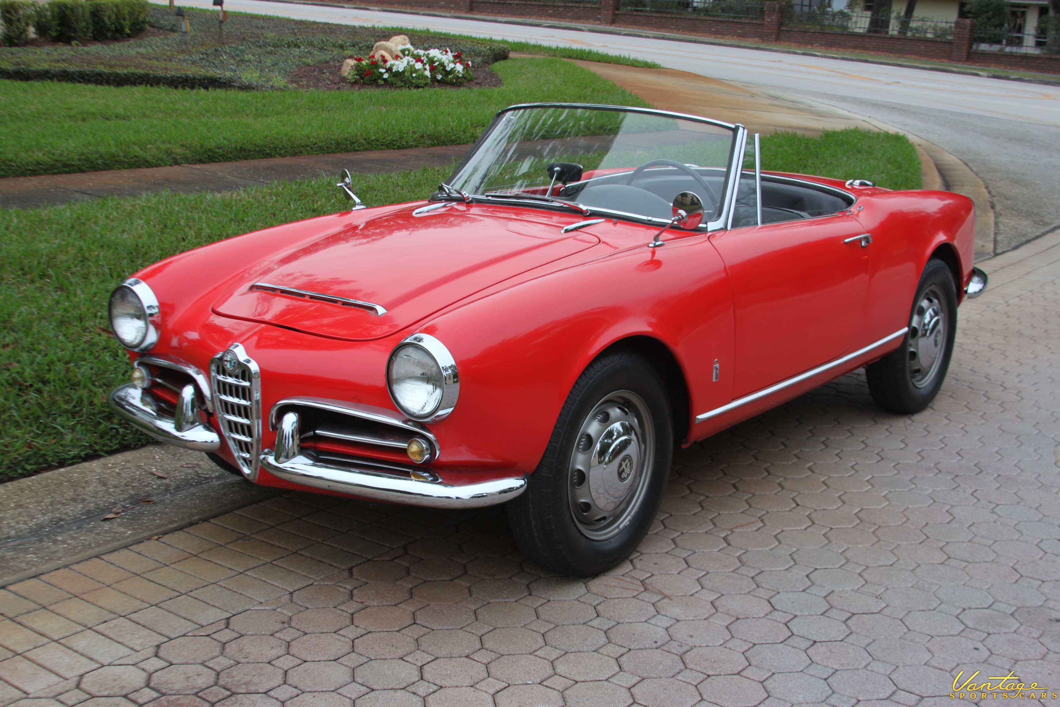 1964 Alfa Romeo Giulia Spider Sold Vantage Sports Cars
