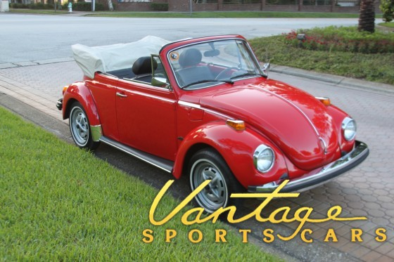 1979 VW Beetle Convertible