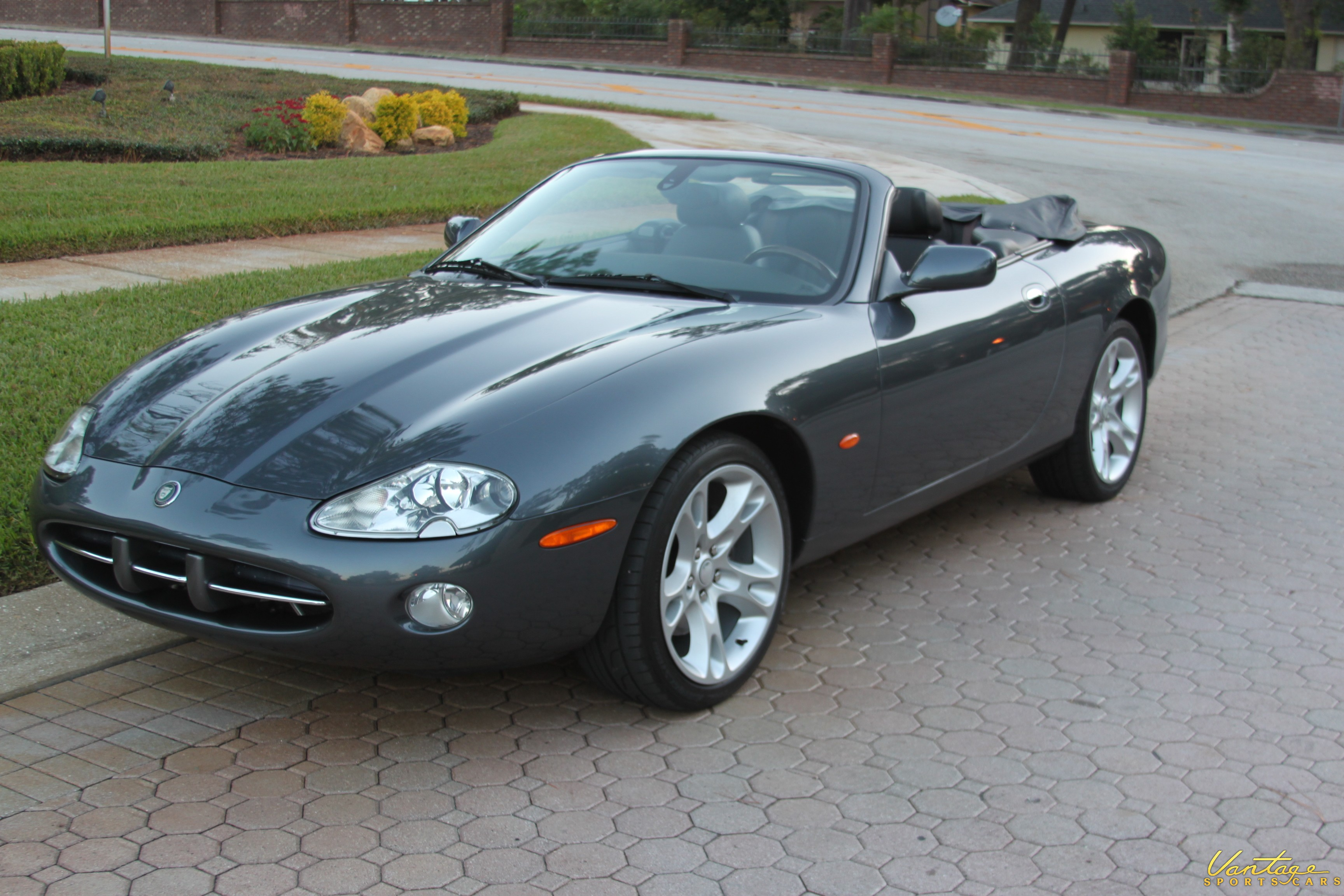 2004 jaguar xk8 convertible sold vantage sports cars. Black Bedroom Furniture Sets. Home Design Ideas