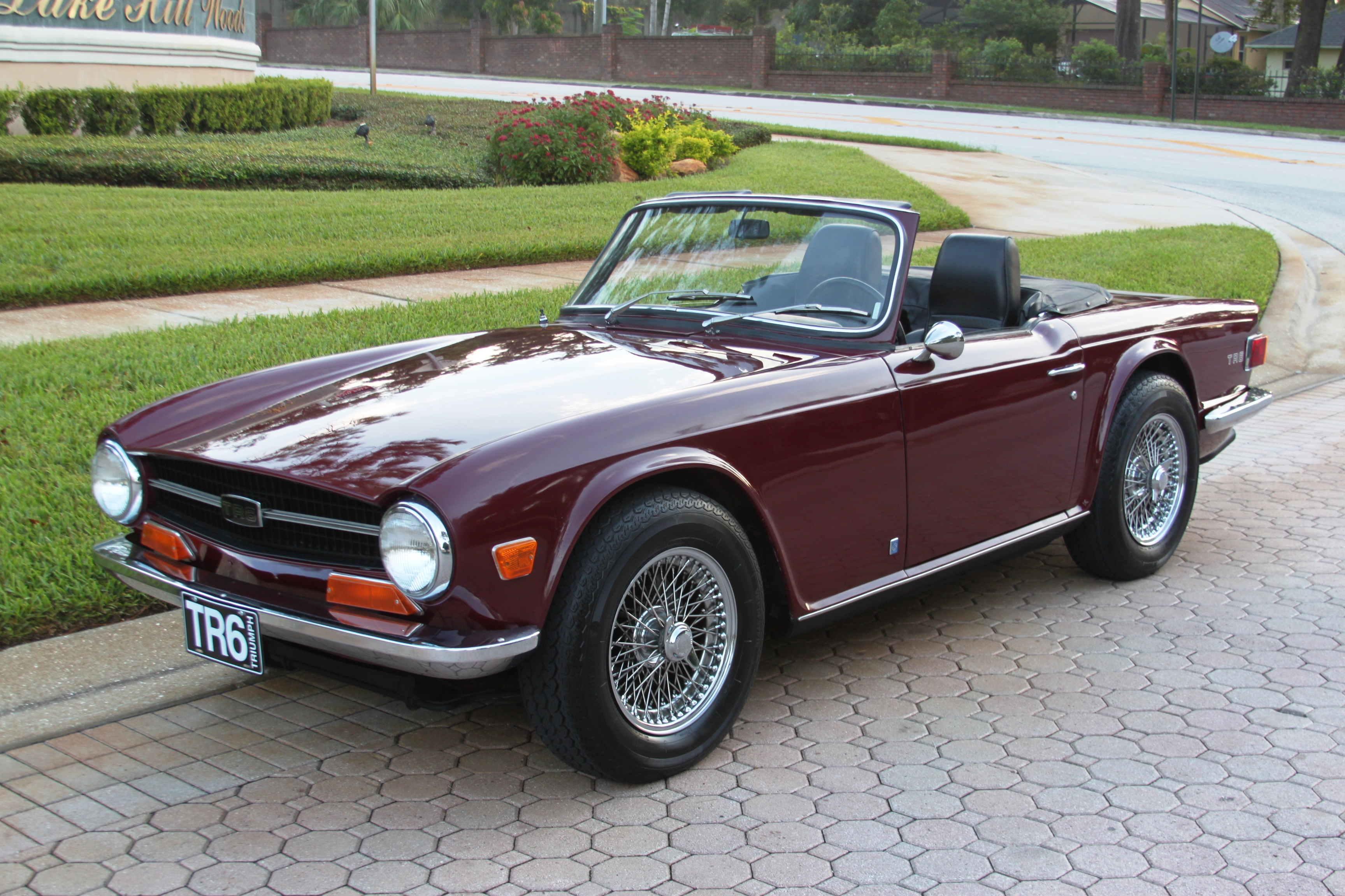1969 Triumph Tr6 First Year For The Tr6 Sold Vantage