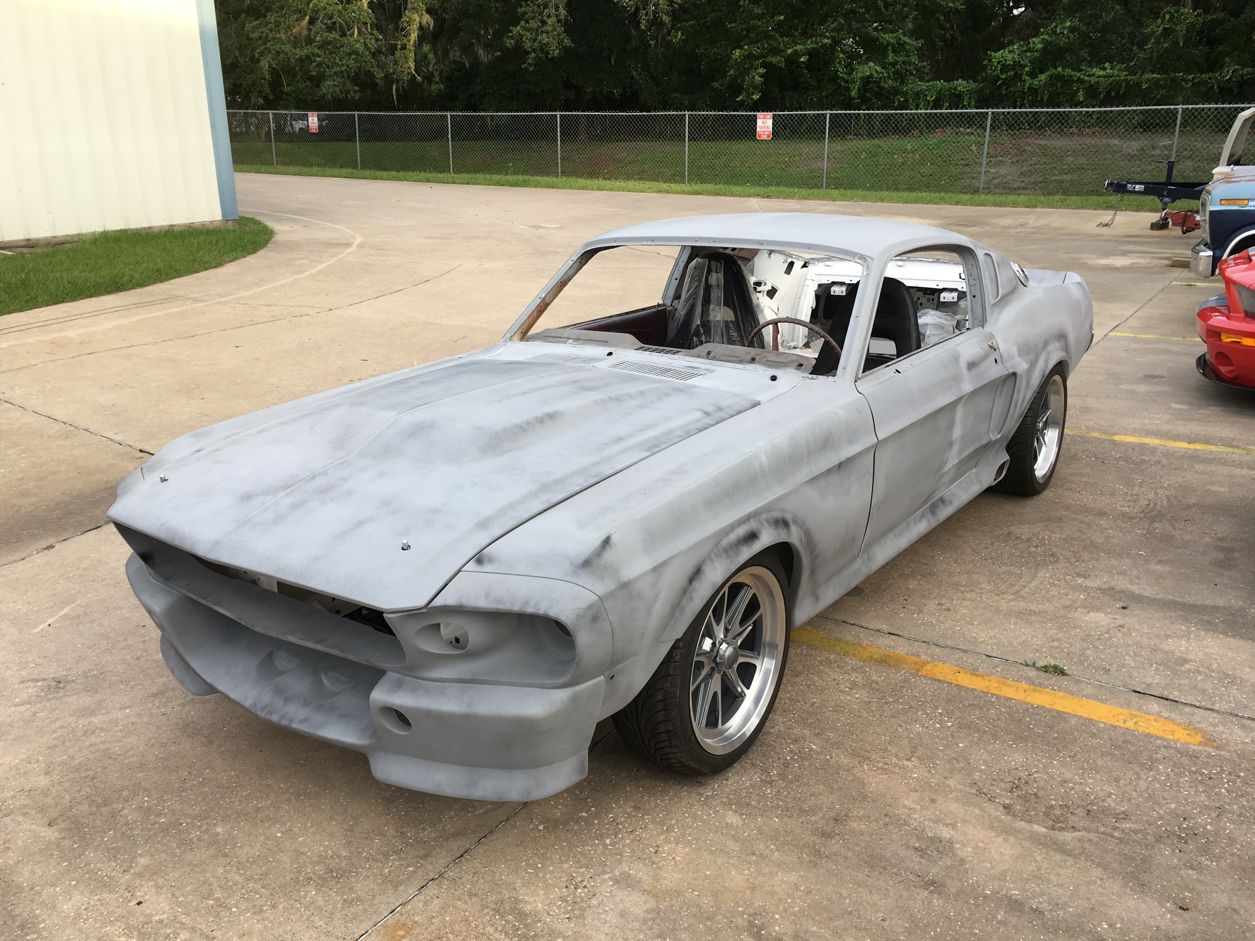 1967 ford mustang fastback eleanor project sold vantage sports