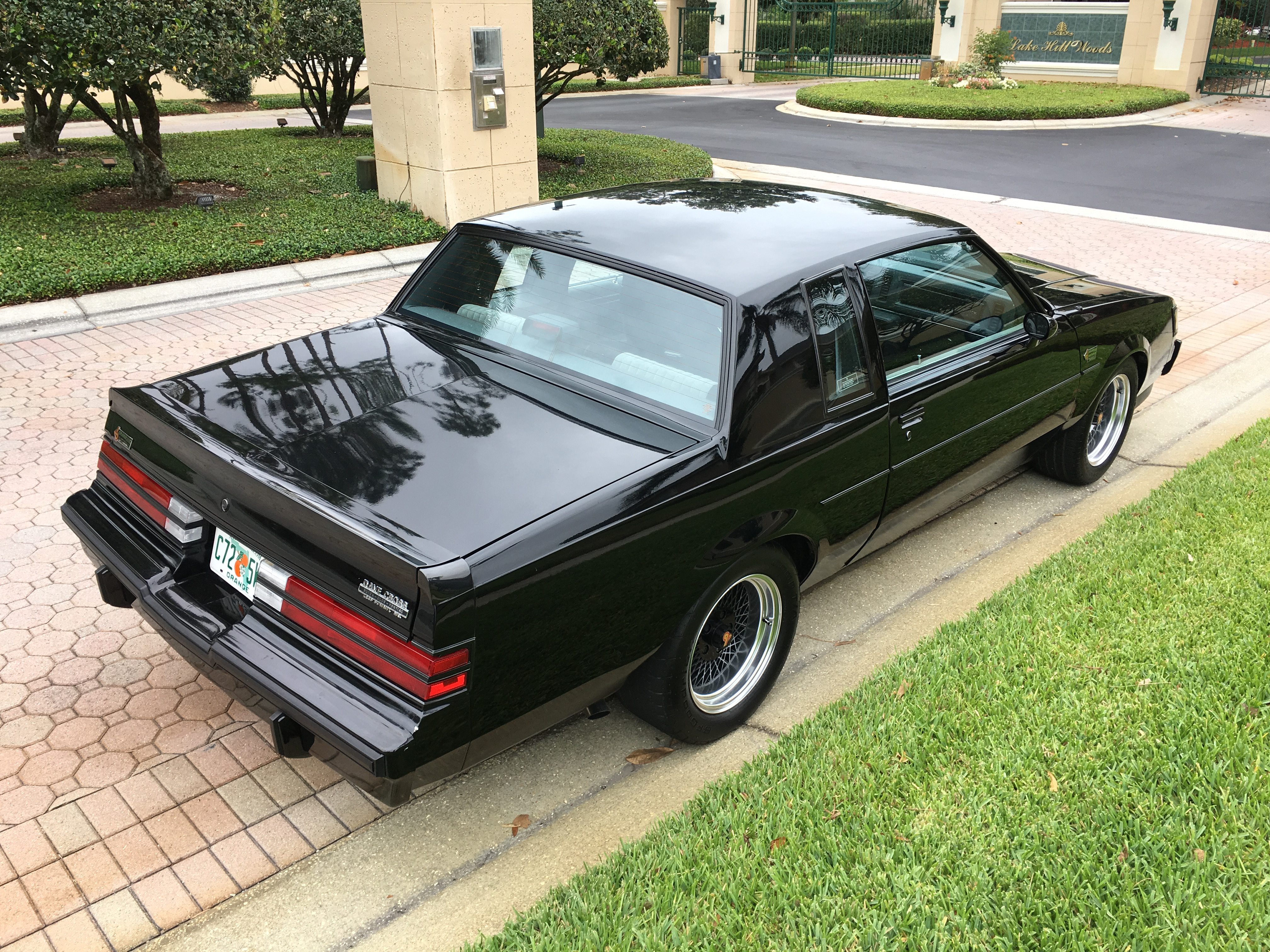 1987 buick regal grand national ebay. Black Bedroom Furniture Sets. Home Design Ideas