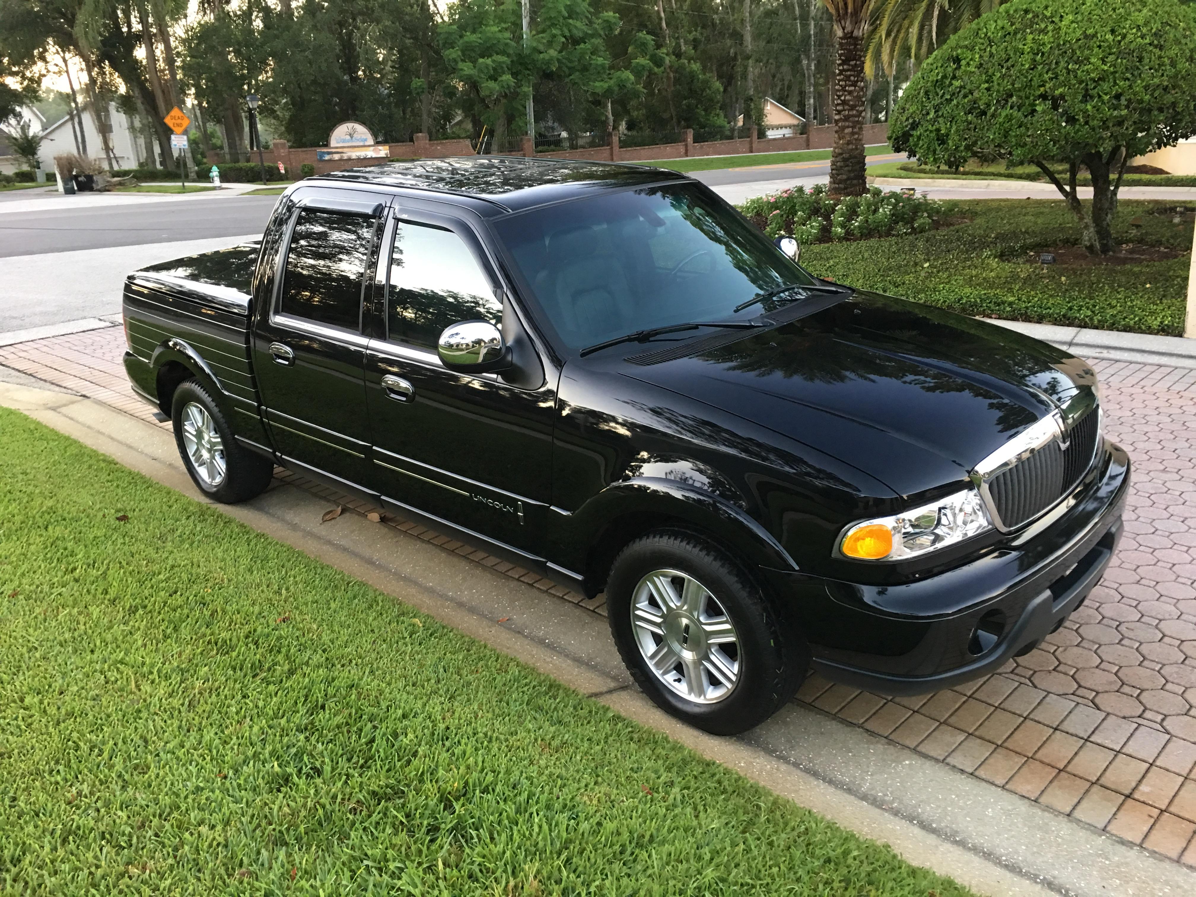 2002 lincoln blackwood truck sold vantage sports cars. Black Bedroom Furniture Sets. Home Design Ideas