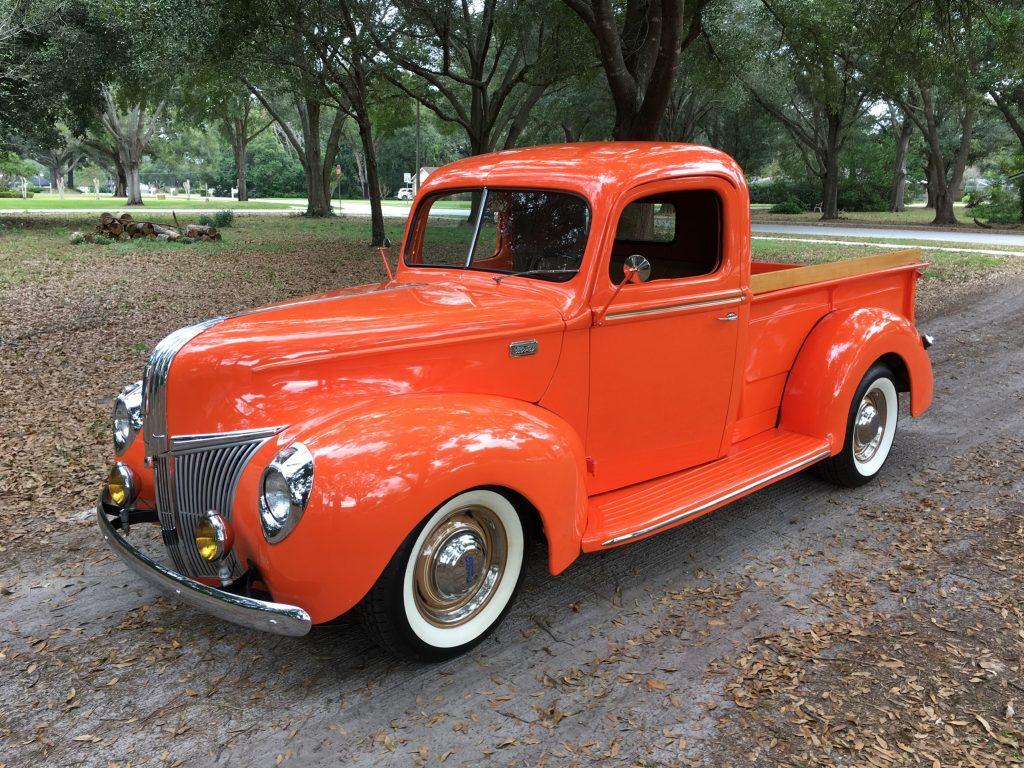 1941 Ford Pickup 350 V8 Auto A C Vantage Sports Cars Vin Location 4600000